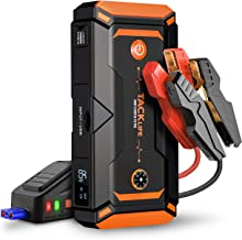 Battery Jump Starter 600A Peak Car SUV Charger Booster Jumper Cables //LED light