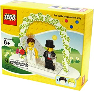 LEGO Mini Figure Set #853340 Wedding Bride Groom Table Decoration