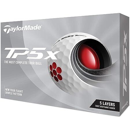 TAYLOR MADE(テーラーメイド) TP5x(ティーピーファイブエックス) ゴルフボール 5ピース 2021年モデル N0802701 ホワイト