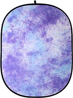 Walimex FaltHintergrund (146x200 cm) flieder batik