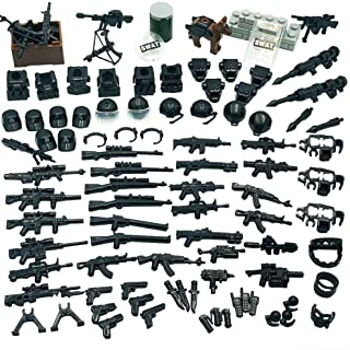 Taken All Custom Military Army Weapons and Accessories Set Compatible Major Brands Building Blocks Toy TAB2019062501