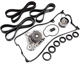 ECCPP Timing Belt Water Pump W/Spring Bolt Fits Honda Civic 2001-2005 1.7L