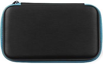 Amazon Basics - Custodia per trasporto per Nintendo 2DS XL, con 3 pennini capacitivi e 2 pellicole salvaschermo, colore: Nero