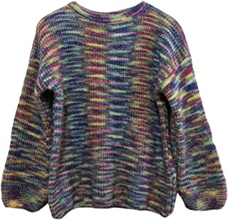 Womens Jumper Winter Warm Long Sleeve Round Neck Pullover Knitted Loose Sweaters