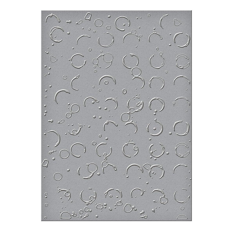 Spellbinders Embossing Folder Large-Splattered Circles