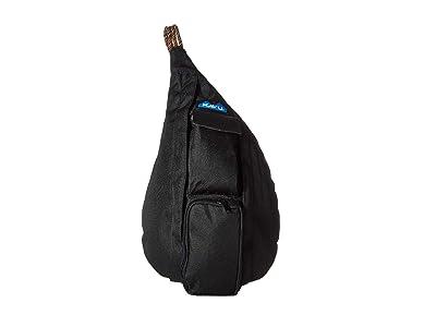 KAVU Mini Rope Sling (Jet Black) Sling Handbags