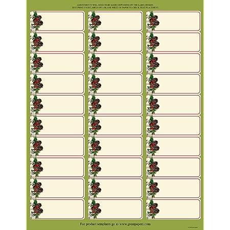 30 Personalized Return Address Labels Hollie Hobbie Buy 3 get 1 free h3