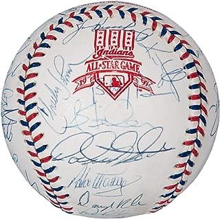 Chipper Jones Signed Ball - 1997 All Star Game 37 Sigs! Bonds Gwynn - PSA/DNA Certified - Autographed Baseballs