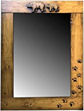 product image for Rustic Bear Cabin Mirror