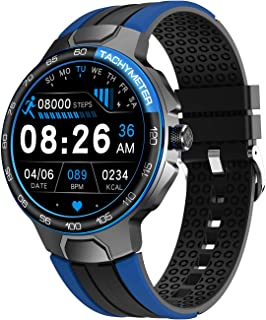 Smart Watch, Fitness Tracker with Blood Pressure Monitor Blood Oxygen Meter Heart Rate Monitor, IP68 Waterproof Pedometer ...