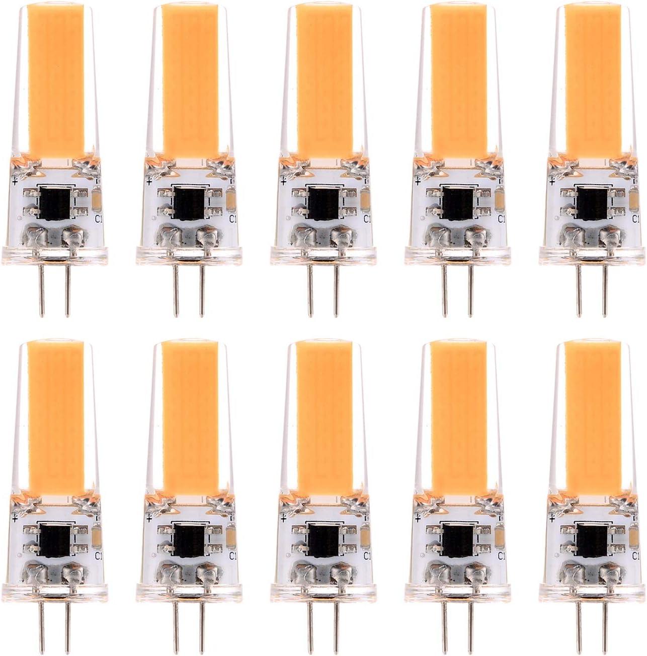 Liyuzhu G4 Max 54% OFF LED Bulb Double Needle 3W Energy Lamp Saving Mesa Mall COB