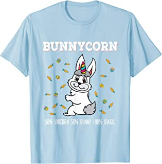 Bunnycorn T-Shirt Magical Rabbit Easter Bunny Unicorn Shirt