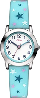 s.Oliver Mädchen-Armbanduhr Analog Quarz Silikon