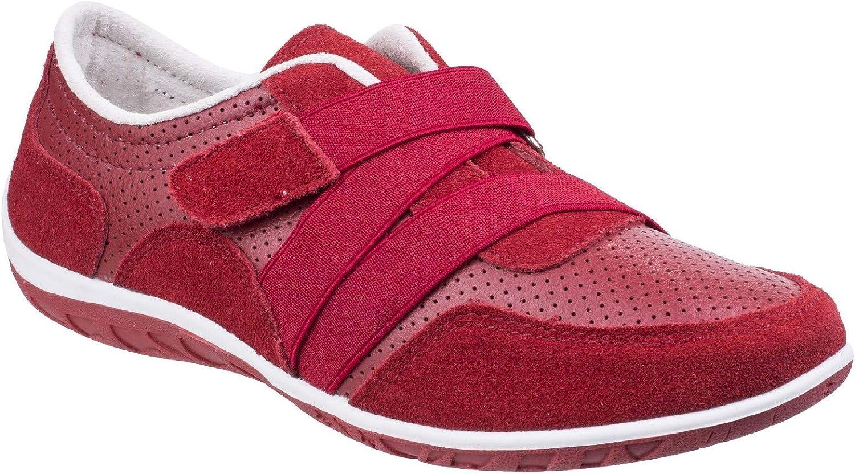 Fleet & Foster Womens Bellini Comfort shoes Red Size UK 4 EU 37