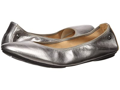 Hush Puppies Chaste Ballet (Gunmetal Metallic) Women