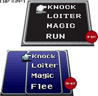 Retro RPG Menu Doormat Welcome Floormat (18
