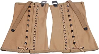 Heerpoint Reproduction Ww2 WWII US Army Canvas Leggings Puttee Protection for Legs
