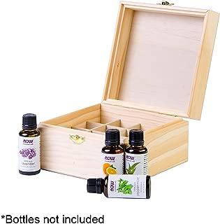 Aroma Designs Wooden Essential Oil Box Holds 16 30ml Oil Bottles