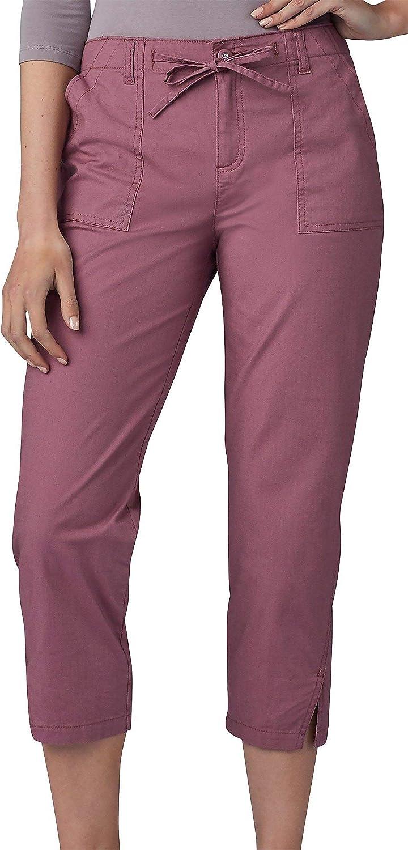 Lee Women's Regular Fit Utility Hem Capri Pant