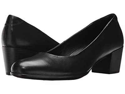 ECCO Shape M 35 Pump (Black Calf Leather) Women
