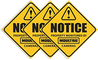 Moultrie Camera Surveillance Signs