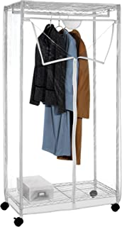Whitmor Supreme Clothes Closet with Clear Cover
