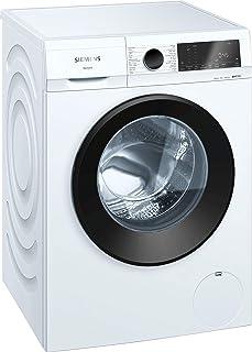 Siemens iQ300 9 Kg 1200 RPM Multi-functional Front Load Washing Machine, White - WG42A1X0GC, Made in Turkey - 1 Year Warranty