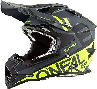 O'Neal Unisex-Adult Off-Road Style 2SERIES Helmet SPYDE black/hi-viz S (Small)