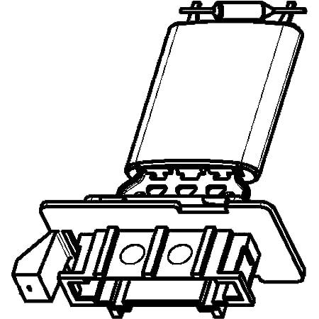Motor Gebl/äse Widerstand Gebl/äsewiderstand f/ür Klimaanlage Heizl/üfter f/ür Klimaanlage f/ür 207 607 6441L2