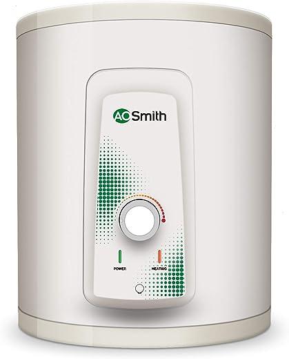 AO Smith HSE-VAS-X-015 Storage 15 Litre Vertical Water Heater (Geyser) White 5 Star