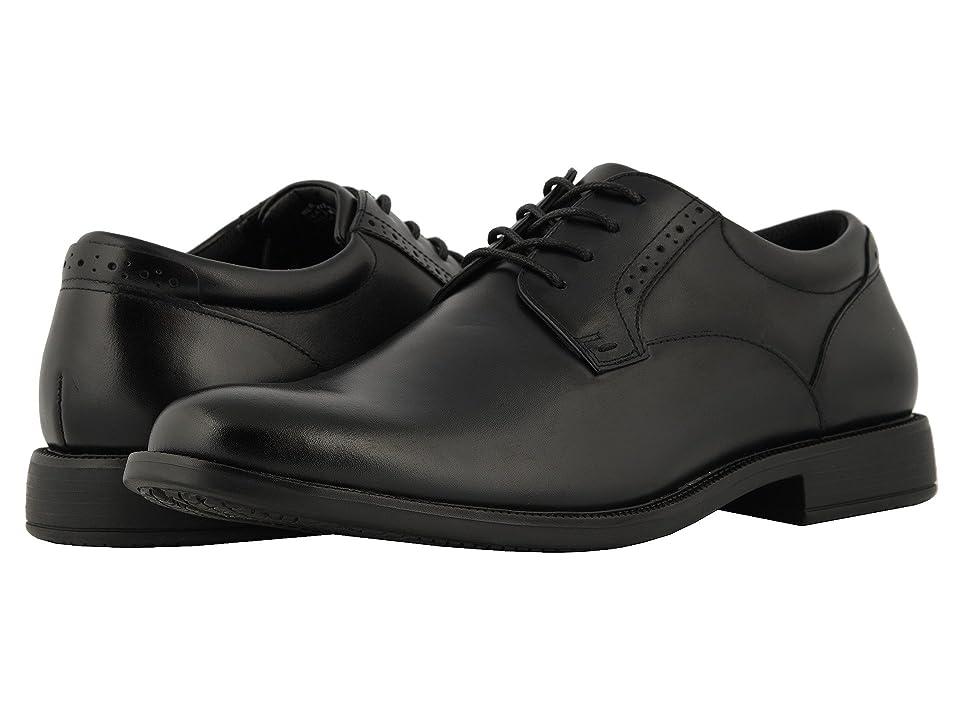 Nunn Bush Nantucket Waterproof Plain Toe Oxford (Black WP) Men