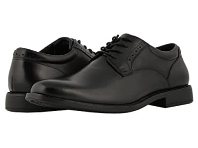 Nunn Bush Nantucket Waterproof Plain Toe Oxford (Black WP) Men