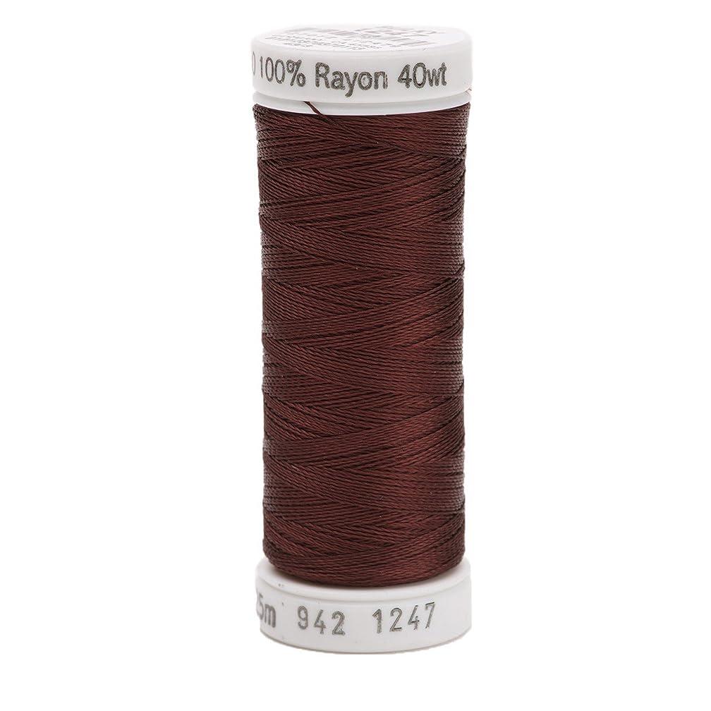 Sulky Rayon Thread for Sewing, 250-Yard, Mahogany