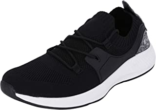 Fsports Latest Collection Black Colour Fletcher Series Lycra Casual Shoes for Men
