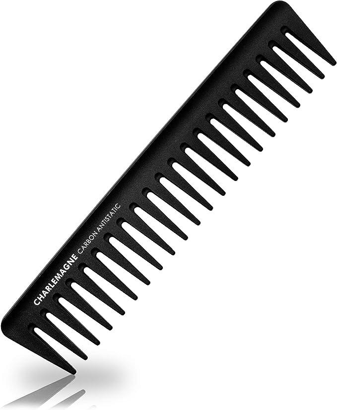 435 opinioni per Pettine uomo Charlemagne   pettine in carbonio premium infrangibile per capelli