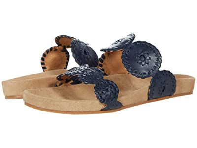 Jack Rogers Comfort Lauren (Midnight Navy) Women