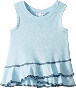 Snowflake Wash Ruffle Tank (Infant)