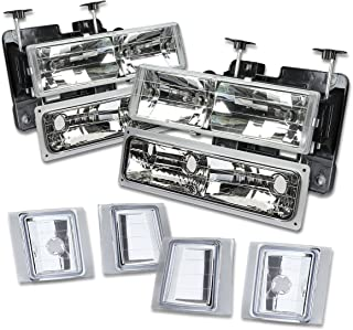 Best 1995 chevy silverado halo headlights Reviews