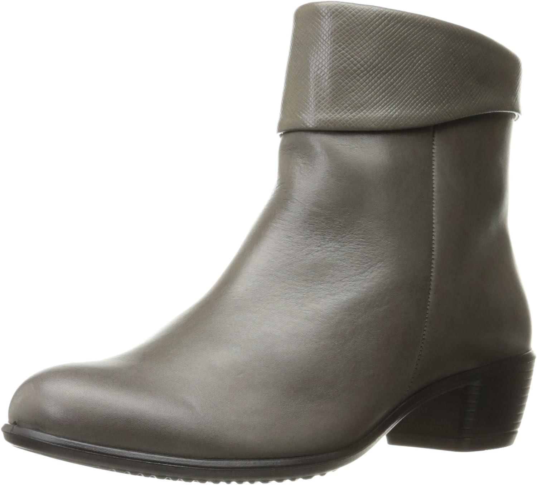 ECCO shoes Women's Touch 35 Slouch Bootie, Warm Grey, 42 EU 11-11.5 M US