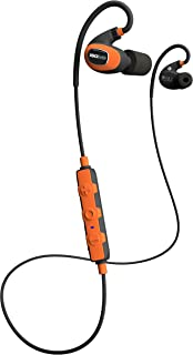 ISOtunes PRO 2.0 Bluetooth Earplug Headphones, 27 dB Noise Reduction Rating, 16+ Hour Battery, IP67 Durability, Noise Cancelling Mic, OSHA Compliant Professional Hearing Protector (Safety Orange)