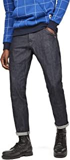 G-Star Men's Faeroes Classic Straight Tapered Jeans, Blue