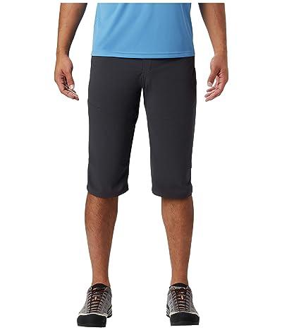 Mountain Hardwear Logan Canyontm 3/4 Pants (Dark Storm) Men