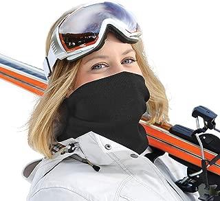 Merino Wool Neck Gaiter Warmer   Neckband, Face Mask, Face Shield, Balaclava