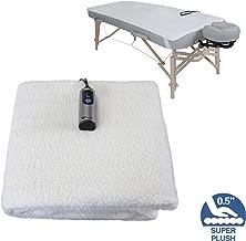 EARTHLITE Massage Table Warmer & Fleece Pad (2 in 1) - 3 Heat Settings, Cozy 0.5