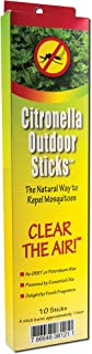 Neem Aura Naturals Outdoor Citronella Sticks, 10 Count