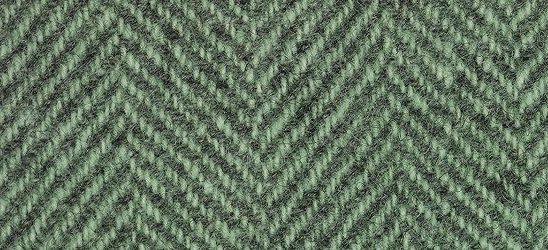 Weeks Dye Works Wool Fat Quarter Herringbone Fabric, 16  by 26 , Cactus
