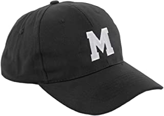 morefaz Unisex Jungen Mädchen Mütze Baseball Cap Hut Kinder Kappe Alphabet A-Z TM
