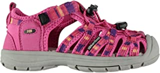 Official Brand Karrimor Ithaca Sandals Infants Girls Pink Flip Flop Thongs Beach Shoes