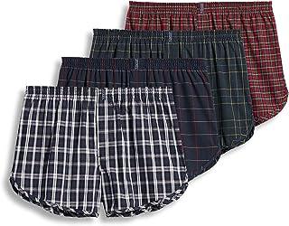 Jockey Men's Underwear Tapered Boxer - 4 Pack
