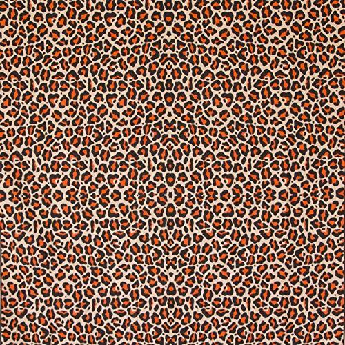 MOMOMUS Tapiz Mandala Leopardo - 100% Algodón, Grande, Multiuso - Plaid/Foulard/Tela/Colcha Ideal como Cubre Sofá/Cama